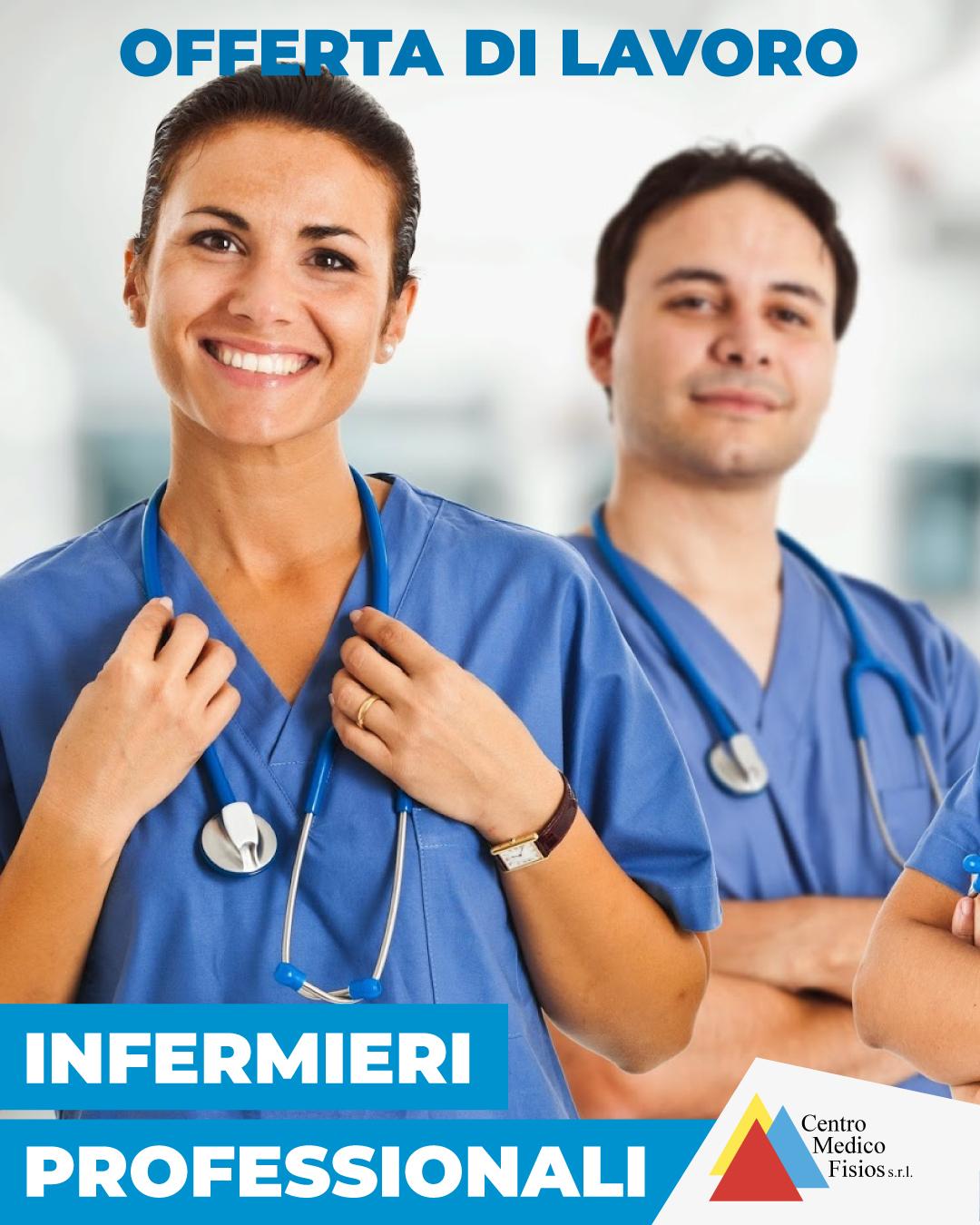 offerta di lavoro - infermieri professionali